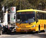 Ônibus interhospitais. Curitiba, 13/08/2015 -  Foto: Luiz Costa/SMCS